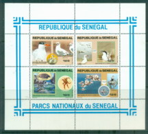 Senegal 1981 National Park Wildlife, Birds MS MUH - Senegal (1960-...)