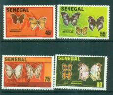 Senegal 1982 Butterflies MLH Lot73563 - Senegal (1960-...)