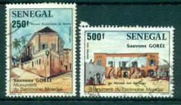 Senegal 1984 SOS Childrens Villages (2/4) FU Lot73569 - Senegal (1960-...)