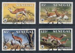 Senegal 1986 WWF Dama Gazelle FU - Senegal (1960-...)