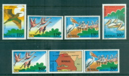 Senegal 1987 Birds In Djoudj National Park MUH - Senegal (1960-...)