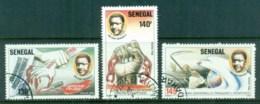 Senegal 1987 Soldarity Against Apartheid CTO - Senegal (1960-...)