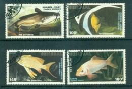 Senegal 1988 Fish CTO Lot73572 - Senegal (1960-...)