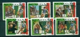 Senegal 1990 World Cup Soccer CTO Lot73576 - Senegal (1960-...)