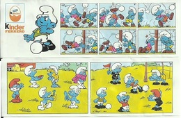 KINDER SCHLÜMPFE Schlümpf Mit Ball BPZ - Instructions
