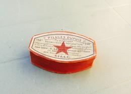 PILULES DUPUIS, G. Levecq Pharmacien à Lille. Boite Carton (vide). - Boîtes
