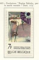 PIA - BELG - 1975 : Fondazione Regina Fabiola Per La Sanità Mentale - (Yv  1766) - Salute