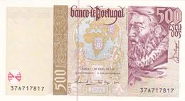 Portugal - Nota Quinhentos Escudos -João De Barros - Portugal