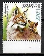 Armenia 2015 / Mammals Lynx MNH Mamiferos Felinos Lince / Cu9702  33 - Felinos
