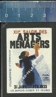 XIIe SALON DES ARTS MÉNAGERS GRAND PALAIS PARIS 1935 (FRANCE étiquette D'allumettes - Matchbox Label) - Matchbox Labels
