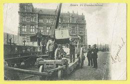 * Antwerpen - Anvers - Antwerp * Un Transbordement, Haven, Harbour, Port, Train Zug, Trein, Ouvriers, TOP, Unique - Antwerpen