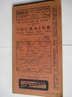 Livret Guides Du Touriste De 1923 -TOURAINE - Orléanais / Blésois / Maine / Anjou / Loire - 100 Pages - 20 Photos - Dépliants Touristiques