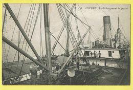 * Antwerpen - Anvers - Antwerp * (nr 148) Le Déchargement De Grains, Quai, Bateau, Péniche, Boat, Boot, TOP - Antwerpen