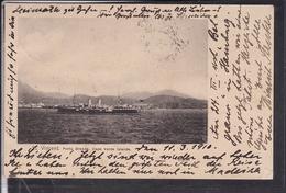"St.Vincent Porto Grande Cape Verde Islands , Dampfer , Stempel "" Paquebot , Deutsche Seepost "" 1910 - Cap Verde"