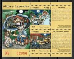 Costa Rica 2012 / UPAEP Tales & Legends MNH Cuentos Y Leyendas Legenden Und Geschichten / Cu9520  41 - Emisiones Comunes