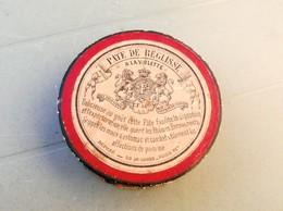 """""""F.F. & Cie"""" : PÂTE De REGLISSE à La Violette (ultérieurement Réglisse FLORENT) Boite Carton (vide) - Boîtes"""