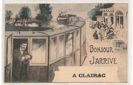 Clairac - Bonjour -  J'Arrive A Clairac - CPA ° - Altri Comuni