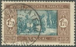 Sénégal 1912-1944 - Dakar Plateau Sur N° 108A (YT) N° 118 (AM). Oblitération. - Senegal (1887-1944)