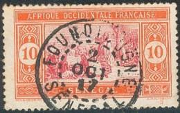 Sénégal 1912-1944 - Foundiougne Sur N° 57 (YT) N° 58 (AM). Oblitération. - Senegal (1887-1944)