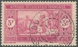 Sénégal 1912-1944 - Saint-Louis Avion Sur N° 109 (YT) N° 112 (AM). Oblitération. - Senegal (1887-1944)