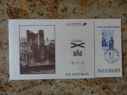 Coupiac Aveyron Inauguration Du Bureau De Poste 1988 - Documents De La Poste