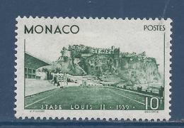 Monaco - YT N° 184 - Neuf Avec Charnière - 1939 - Monaco