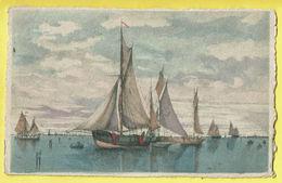 * Antwerpen - Anvers - Antwerp * (Déposé Serie 131B) Bateau, Boat, Boot, Voilier, Zeilboot, Canal, Quai, Couleur - Antwerpen