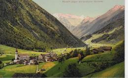 AKL 0033  Neustift Im Stubaital Gegen Die Gletscher - Verlag Gratl Um 1910-20 - Neustift Im Stubaital