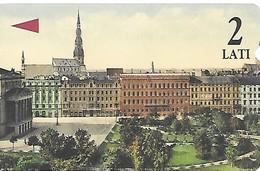 Riga - Bulvãru Apbüve - Opera - Latvia