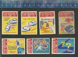 LA PRÉVENTION ROUTIÈRE (FRANCE étiquettes D'allumettes SEITA - Matchbox Labels) OLD & VERY RARE - Matchbox Labels