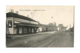Wervicq (Belgique) - Intérieur De La Gare (1915). - Wervik