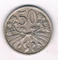 50 HALLER 1921 TSJECHOSLOWAKIJE /5928// - Czechoslovakia