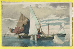 * Antwerpen - Anvers - Antwerp * (Déposé Serie 131B) Bateau, Boat, Boot, Voilier, Zeilboot, Couleur, Canal, Quai - Antwerpen