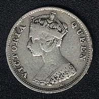 Hongkong, 10 Cents 1900 H, Silber - Hong Kong