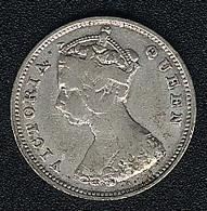 Hongkong, 10 Cents 1897, Silber - Hong Kong