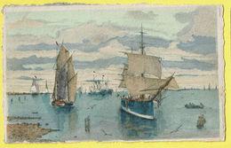 * Antwerpen - Anvers - Antwerp * (Déposé Serie 131B) Bateau, Boat, Boot, Zeilboot, Voilier, Couleur, Rare, TOP - Antwerpen