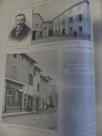 ILLUSTRATION 27/05 1899  N° 2935 THOISSEY LE VILLAGE DU COMMANDANT  MARCHAND - 1850 - 1899