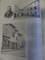ILLUSTRATION 27/05 1899  N° 2935 THOISSEY LE VILLAGE DU COMMANDANT  MARCHAND - Newspapers