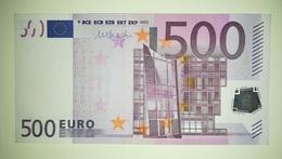 EURO- AUSTRIA 500 EURO (N) F008 SIGN DRAGHI - EURO