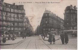 PARIS 9è-Place Du Delta Et Rue Rochechouart - CJ 110 - Arrondissement: 09