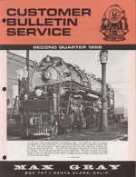 Catalogue MAX GRAY Customer Bulletin Service Second Quarter 1965 KTM HO & O - Boeken En Tijdschriften