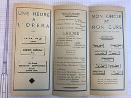 18X - Grand Gala Dramatique œuvres Locales Secours D'hivers Prisonniers 1944 é Moustier Sur Sambre - Programs