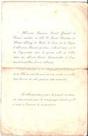 R. P. Licent Directeur Du Musée Hoang Ho Paiho. Remise De Légion D'Honneur Par Monsieur Saussine Consul. 9 Avril 1927 - Faire-part