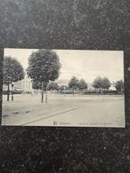 Bruxelles // Avenue De Tervueren - 1er Rond Point  Used 1912  Rare - Lanen, Boulevards