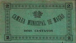 2 CENTAVOS - CÂMARA MUNICIPAL DE MAÇÃO - Portugal