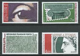 FRANCE 1975 . Série N°s 1830 à 1833 . Neufs ** (MNH) - France