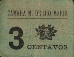3 CENTAVOS - CÂMARA MUNICIPAL DE RIO MAIOR - Portugal