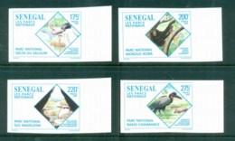 Senegal 1996 National Parks Birds, Chimp IMPERF MUH - Senegal (1960-...)