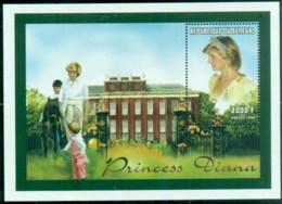Senegal 1998 Princess Diana In Memoriam, At Home With Her Princes MS MUH - Senegal (1960-...)
