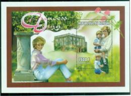 Senegal 1998 Princess Diana In Memoriam, Princess & Mother MS MUH - Senegal (1960-...)